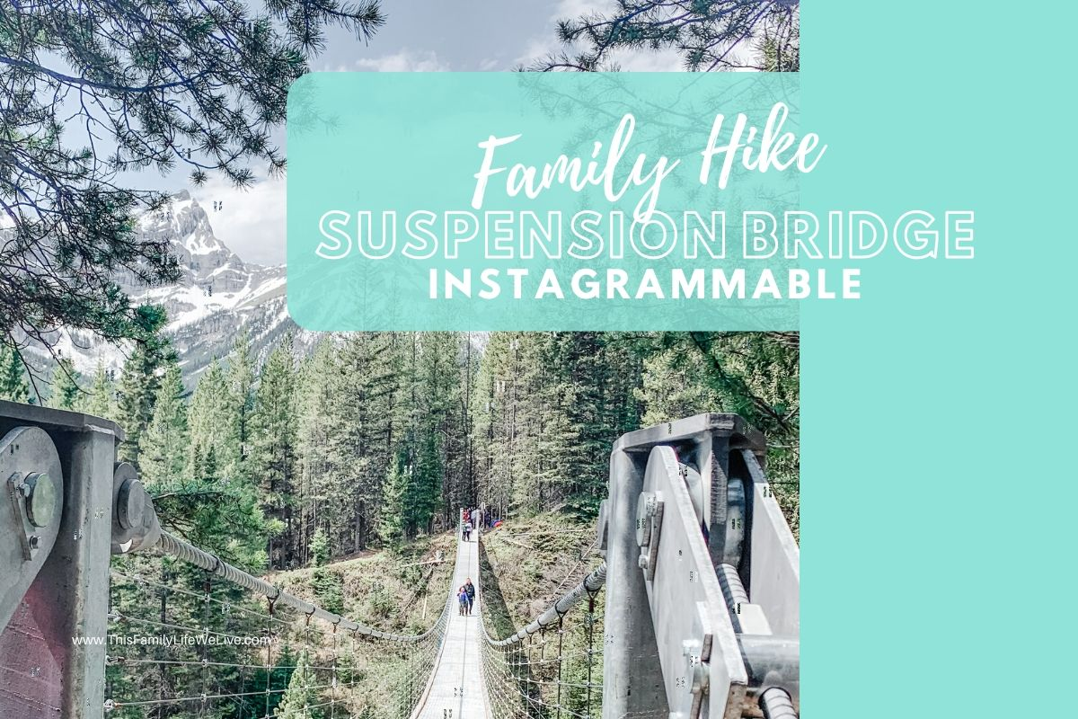 Family Hike: To A Highly Instagrammable Suspension Bridge